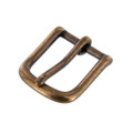 "1035 1"" *Dark* Antique Brass, Heel Bar Buckle, Solid Brass-LL"