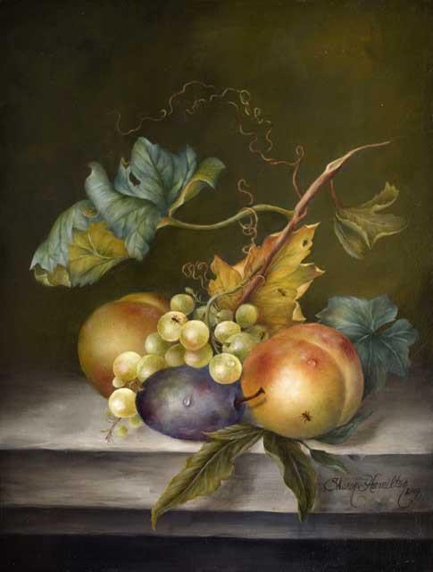 Study of Two Pears - Poetic Musings