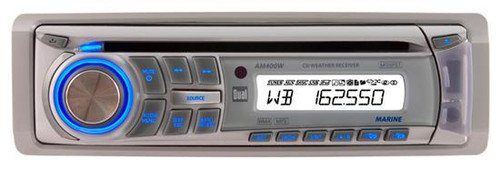 2012 Dual 240W Marine Boat AM400W CD MP3 AM FM Receiver w/ iPod iPhone USB Input