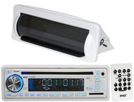 Outdoor Marine PLCD35MR InDash Boat Stereo CD MP3 USB AUX Input w/Splash Cover