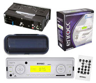 New Enrock EKMRW10 In Dash Boat Marine MP3 USB AM FM Receiver Remote and Cover