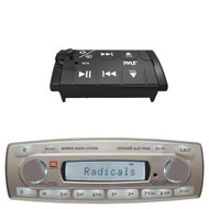 JBL MR18.5 Marine Boat MP3 USB iPod iPhone Radio Receiver PLBT27 Wired Remote