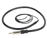 "MRANT10 Boss Audio 45"" Dipole Marine Motorcycle Audio Hideaway Flexible Antenna (Black)"