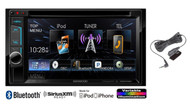 New kenwood DDX372BT Car In Dash CD MP3 DVD Multimedia AM/FM Stereo Receiver with Bluetooth SiriusXM Ready Player