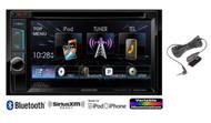 New kenwood DDX372BT Car In Dash CD MP3 DVD Multimedia AM/FM Stereo Receiver with Bluetooth SiriusXM Ready Player