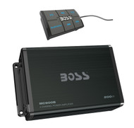 New MC900B Boss 4-Channel Bluetooth Micro Class AB Marine Boat Amplifier System With Remote 200W Amp
