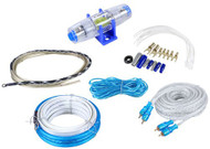 New Cadence FMK8 Professional 8 Gauge Waterproof Marine Boat Amplifier Installation Wire Kit