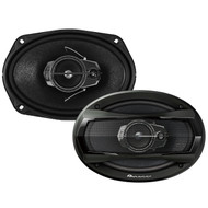 "New Pioneer 6"" X 9"" Car Audio TS Series Coaxial 3-Way Stereo Speaker 400W Max"