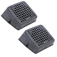 """New Seaworthy SEA-4531W/B Rugged 5"""" Black Square Surface or Flush Mount Speakers"""