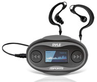 New PSWP25BK 4 GB Waterproof MP3 FM Player W/ Stop Watch & Waterproof Headphones