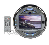 New Dual MGH30BT In Dash Marine Boat Yacht Media Bluetooth Digital Gauge Style Stereo Receiver with 3-Inch LCD Screen