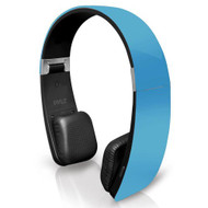 Sound 6 Bluetooth 2-in-1 Stereo Headphones with Built-in Mic for Call Answering and Easy-Touch Digital Controls (Blue Color)