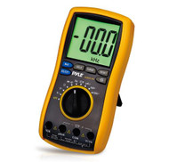 New PDMT38 Digital LCD AC Resistance Multimeter W/Rubber Case Stand & Test Leads