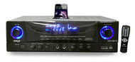 New Pyle PT4601AIU Stereo System AM-FM Tuner iPod Docking Station USB/SD Input