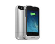 mophie Juice Pack Helium Snap Battery Case for iPhone 5/5s (1500mAh) - Silver