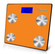 New Pyle PHLSCBT4OR Bluetooth Digital Scale & Smartphone Data Transfer - Orange