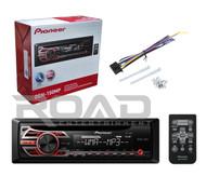 Pioneer DEH150MP CD MP3 Playback AM/FM Radio Single Din Car Receiver with Remote