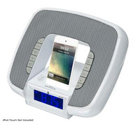 New Pyle PICL29W iPod/iPhone Speaker Dock Station Audio-In FM Radio Alarm Clock