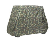 Armor Shield Golf Cart Storage Cover 2 Passenger In Camo Color