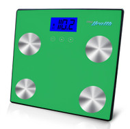 New Pyle PHLSCBT4GN Bluetooth Digital Scale & Smartphone Data Transfer - Green