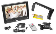 New 7'' HD On Camera Monitor W/ HDMI, YPbPr, AV, Audio Inputs For Digital Camera