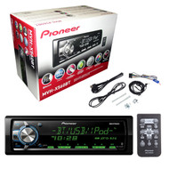 Pioneer Cd Free 1/2Depth Bt/Usb/Mix/3Rca