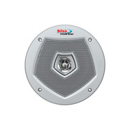"New Boss Audio Marine Boat Yacht 6.5"" 2-Way Loudspeaker 250W Max Stereo Speaker System  White 1 Pair"