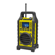 New PWPBT250YL Rugged & Portable Bluetooth Speaker with FM-Radio USB/SD AUX-IN