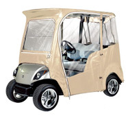 Armor Shield Yamaha Golf Cart Custom Enclosure Cover, Fits Yamaha Drive® 2009 and 2010 Models (Tan Color)