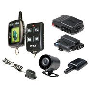 New PWD901 Car LCD 2-Way Remote Start Security System w/Advanced Impact Sensor