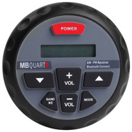 Mbquart Bluetooth Enabled Gauge Mount Radio