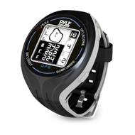 Pyle GPS Smart Golf Watch with Course Recognition Green Locator Distance Calculator and Scoring System