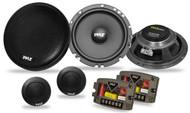New Pyle PLSL650K 6.5'' 300 Watt Slim Mount Two-Way Component Car Speaker System