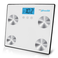 New Pyle PHLSCBT4WT Bluetooth Digital Scale & Smartphone Data Transfer - White