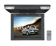 Legacy LMR17.1 Hi-Res 15.1-Inch Flip Down Roof Mount LCD Video Display Monitor and IR Transmitter