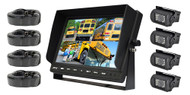 New PLCMTR104 Dual DC Voltage 12-24 Van, Truck & Bus Top Mount Back up Camera