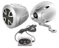 Pyle Bluetooth Weatherproof Speaker System 800 Watts Motorcycle/Snowmobile Mount