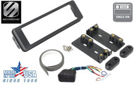 1996-13 Harley Davidson ISO DIN Kit, Includes connection harness