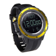 New Pyle PSWWM82YL Digital Sport Watch W/ Altimeter Barometer & Weather Forecast