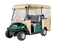 Armor Shield Deluxe 4 Sided Golf Cart Enclosure 4 Passenger, Fits Carts up to 95'' Length (Tan Color)