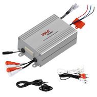 PLMRMP4A Pyle 4 Channel Waterproof MP3 / Ipod Marine Power Amplifier (White)