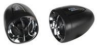 "Boss Motorcycle/Utv Amplifier Speaker 2.5"" Speakers Built In Amp 400W"