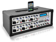 New Pyle PMX630I 6 Ch 600W Professional Mixer - iPod Dock, MP3, SD, USB Readers