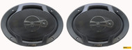 Alpine SPJ-691C3 6 x 9 Inch Coaxial 400 Watt 3-Way Speaker (pair)