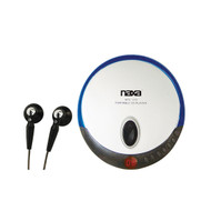 Naxa Personal Cd Player-Blue