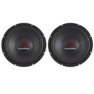 "2 X New Massive Audio 12"" Car Audio Subwoofer"