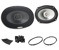 "New Pair Alpine SXE-6925S 6"" x 9"" 280W Max 2-Way Coaxial Car Audio Stereo Speakers"