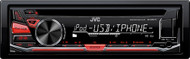JVC KD-R670 Single DIN In-Dash CD/AM/FM/ Front USB/AUX Stereo Receiver