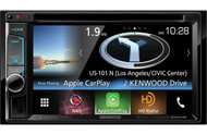 "Kenwood DNX573S In-Dash 2-DIN 6.2"" Touchscreen DVD Receiver with Navigation System"