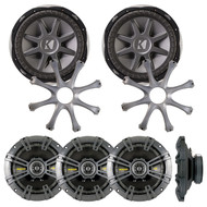"2 X 10CVX124 X NEW KICKER CVX12 12"" 1500W 4-Ohm Comp VX Car Audio Subwoofer Sub 10CXV124 CVX"
